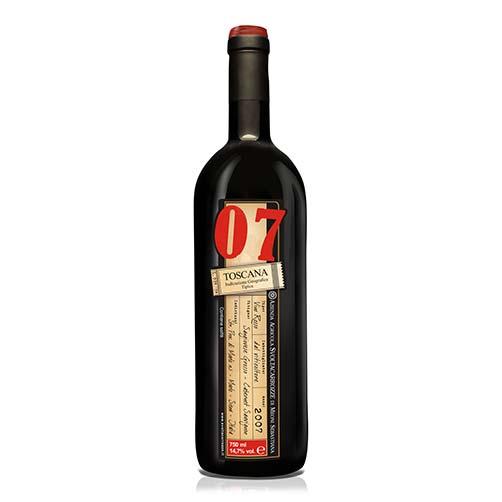 """Toscana Rosso IGT """"07"""""""