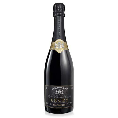 "Champagne Brut Blanc de Blancs Grand Cru ""Encry Grande Cuvée"" Millésime"