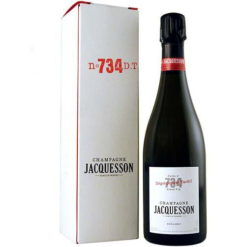 "Champagne Extra Brut ""Cuvée N° 735 Dégorgement Tardif"""