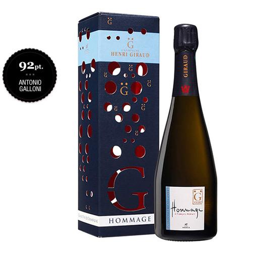 "Champagne Brut Grand Cru ""Hommage à François Hémart"""
