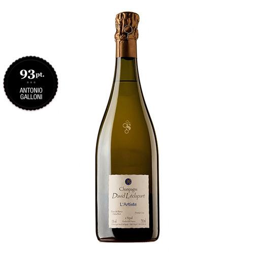 """Champagne Extra Brut Blanc de Blancs 1er Cru """"L'Artiste"""""""