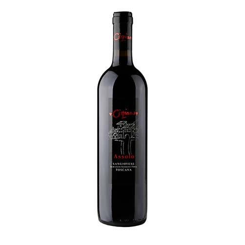 "Toscana Sangiovese IGT ""Assolo"""
