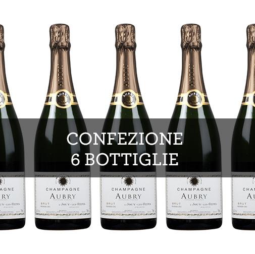 Champagne 1er Cru Brut (6 bottiglie)