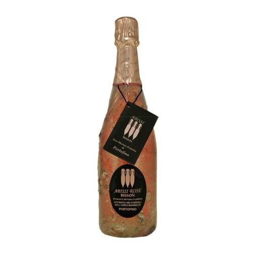 """Portofino Spumante Metodo Classico Dosaggio Zero Rosè DOC """"Abissi"""" 2014 Magnum"""