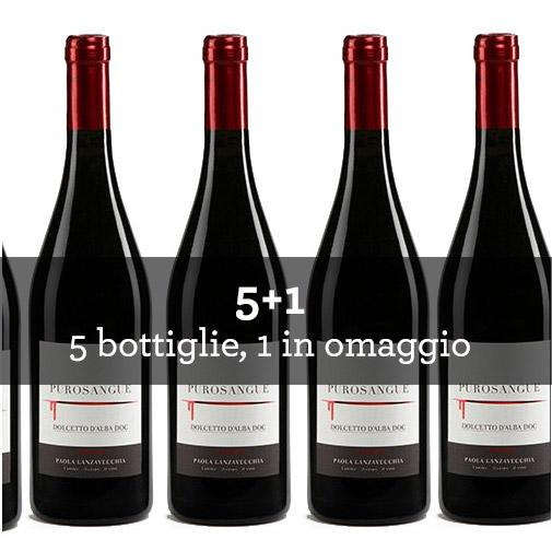 """Dolcetto dAlba DOC """"Purosangue"""" 2011 (6 bottiglie)"""