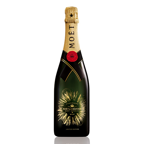 "Champagne Brut ""Moët Impérial Bursting Bubble"""