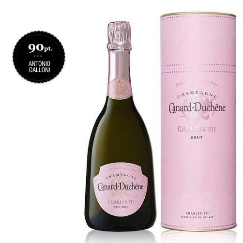 "Champagne Brut Rosé ""Grand Cuvée de la Rose Charles VII"""