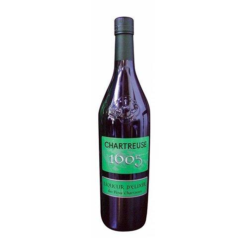 """Liqueur d'Elixir des Pères Chartreux """"1605"""""""