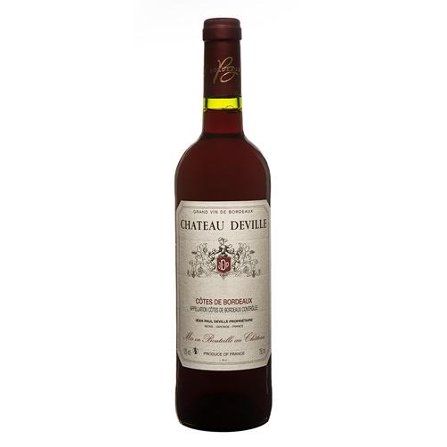 Côtes de Bordeaux AOC Château Deville Rouge