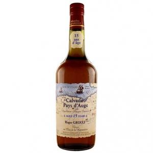 Calvados Pays d'Auge Age 15 Ans - Roger Groult (cassetta di legno, 2,5l)