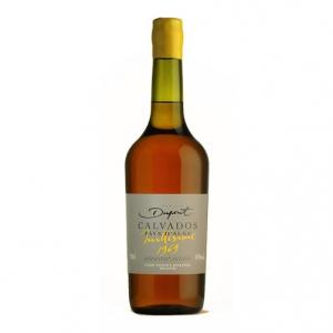 """Calvados Pays d'Auge """"Millesime 1969"""" - Domaine Dupont (0.7l)"""