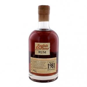 """Rum Antigua """"English Harbour"""" 1981 - Antigua Distillery"""