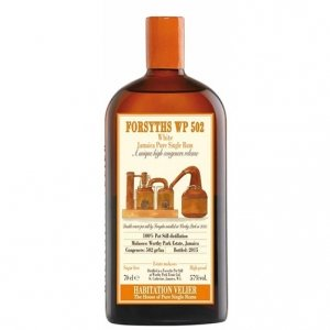 "White Jamaica Pure Single Rum ""Forsyths WP 502"" - Habitation Velier"