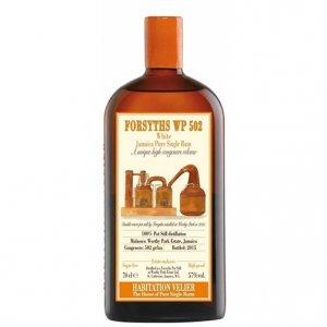"White Jamaica Pure Single Rum ""Forsyths WP 502"" - Habitation Velier"