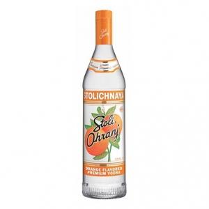 "Vodka Premium Orange Flavored ""Stoli Ohranj"" - Stolichnaya (0.7l)"