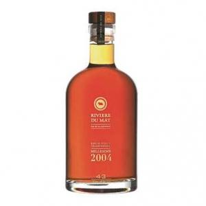 Rum Vieux Traditionnel Millesime 2004 - Rivière du Mat