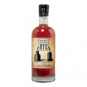 "California Rye Whiskey ""Sonoma"" - Sonoma County Distilling Co."