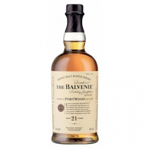 "Single Malt Scotch Whisky ""PortWood"" 21 years old - The Balvenie"
