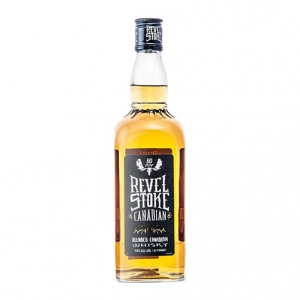"Spiced Canadian Whisky ""Revel Stoke"" - Phillips Distilling Company"