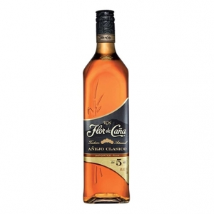Rum Añejo Clasico 5 years old - Flor de Caña (1l)