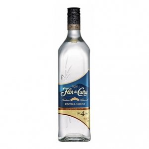 Rum Extra Dry 4 Years Old - Flor de Caña (1l)