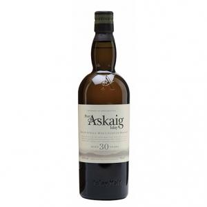 """Islay Single Malt Scotch Whisky """"Port Askaig 30 Y.O."""" - Speciality Drinks (cassetta di legno - 0.7l)"""