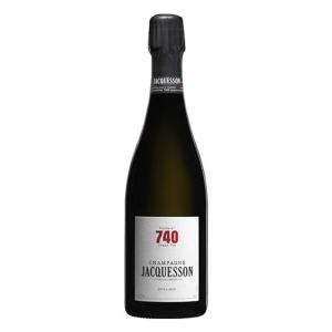 "Champagne Extra Brut ""Cuvée N° 740"" Magnum - Jacquesson (astuccio)"