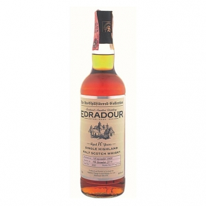 "Single Highland Malt Scotch Whisky ""The Unchillfiltered Collection"" 2005 - Edradour"
