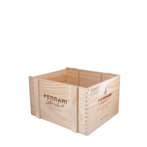 Cassetta legno Riserva Lunelli - Ferrari