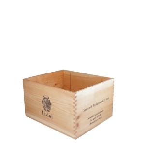 Cassetta legno Brunello di Montalcino - Lisini