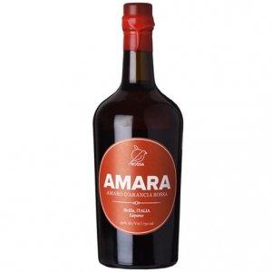 """Amaro d'arancia rossa """"Amara"""" - Rossa Sicily (0.5l)"""