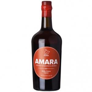 """Amaro d'arancia rossa """"Amara"""" - Rossa Sicily (0.5l, astuccio)"""