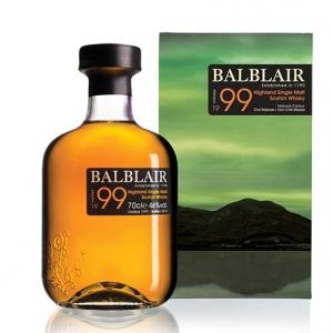 "Highland Single Malt Scotch Whisky ""Balblair"" 1999 - Balblair Distillery"
