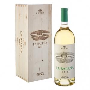 """Toscana Bianco Viogner IGT """"La Balena"""" 2013 Magnum - Petra (cassetta di legno)"""