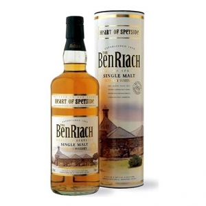 "Single Malt Scotch Whisky ""Heart of Speyside"" - The BenRiach (0.7l)"