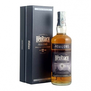 "Single Malt Scotch Whisky ""Horizons Triple Distilled"" 12 years old - The BenRiach"