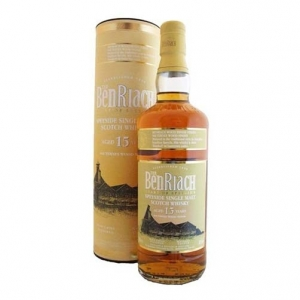 "Speyside Single Malt Scotch Whisky ""Sauternes Wood Finish"" 15 yearsold - The BenRiach"