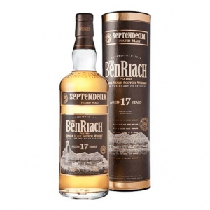 """Peated Single Malt Scotch Whisky """"Septendecim"""" 17 years old - The BenRiach"""