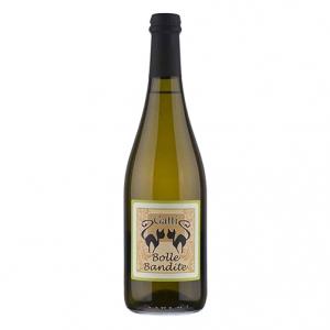 """Vino Bianco Frizzante Sur Lie """"Bolle Bandite"""" - Gatti"""