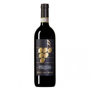 """Brunello di Montalcino DOCG """"Moz Art Wine"""" 2010 - Il Paradiso di Frassina"""