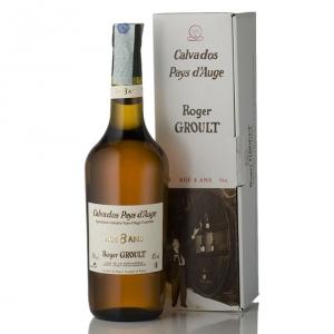 Calvados Pays d'Auge Age 8 Ans - Roger Groult (cassetta di legno, 2,5l)