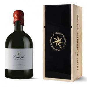 """Sicilia Nero d'Avola DOC """"Carthago"""" 2014 Magnum - Mandrarossa (cassetta di legno)"""