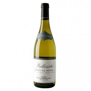 """Côtes du Rhône Blanc """"Belleruche"""" 2015 - Chapoutier"""