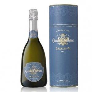 "Champagne Brut Blanc de Blancs ""Grande Cuvée des Lys Charles VII"" - Canard Duchêne (astuccio)"