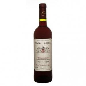 Côtes de Bordeaux AOC Château Deville Rouge 2014 - Château Deville