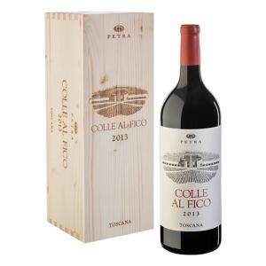"Toscana Rosso Syrah IGT ""Colle al Fico"" 2013 Magnum - Petra (cassetta di legno)"