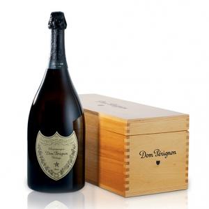 Champagne Brut Dom Pérignon Jéroboam - Dom Pérignon (cassetta di legno)