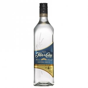 Rum Extra Dry 4 Years Old - Flor de Caña (0.7l)