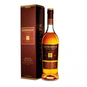 "Highland Single Malt Scotch Whisky 12 years old Sherry Cask Finish ""Lasanta"" - Glenmorangie (astucciato)"