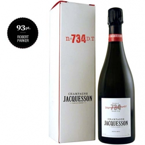 "Champagne Extra Brut ""Cuvée N° 734 Dégorgement Tardif"" - Jacquesson (astuccio)"